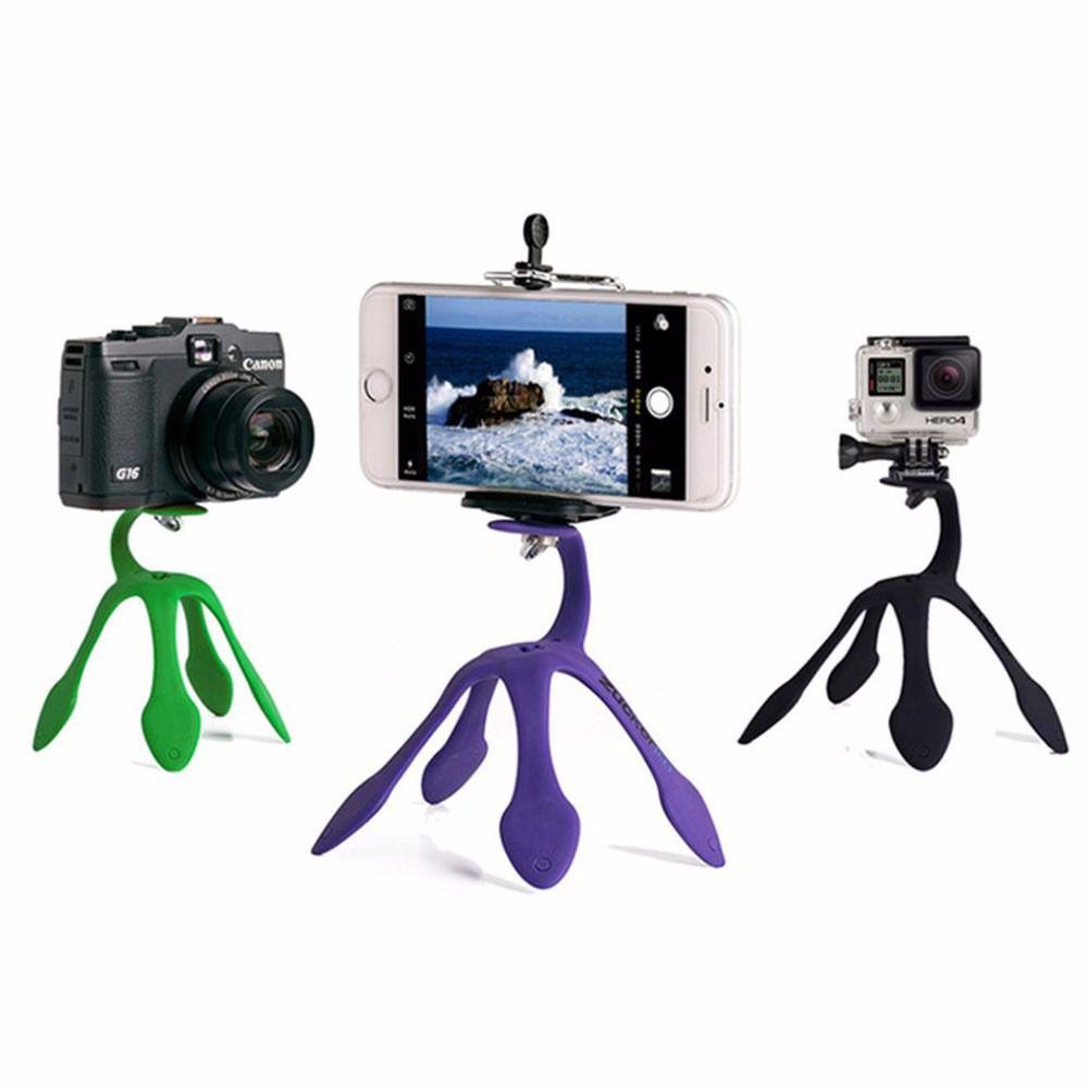 Kit Youtuber 13x1 -Tripé 1,30m + Anel Led + Suporte Mesa Flexível + Kit Lentes 3x1 + Mic Lapela com Adaptador + Extensão 3 Metros para Lapela + bastão + controle + suporte selfie + Mini tripe gekopod