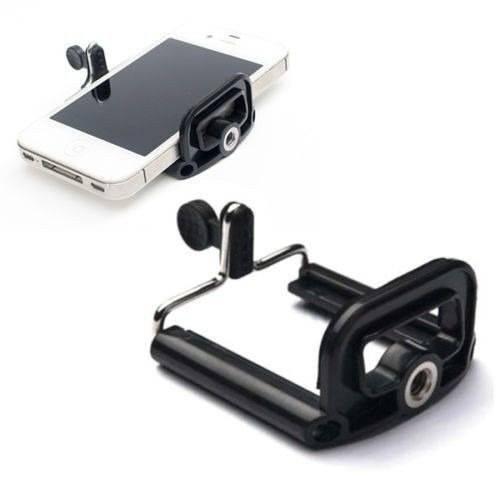 Kit Youtuber 5x1 - Tripé 1,20 Metro + Mini Tripé Gekkopod + Monopod + Controle Bluetooth + Suporte Universal