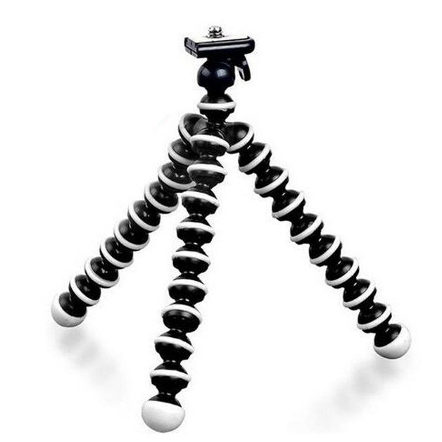 Kit Youtuber 6x1 - Bastão + Controle + Suporte Cel Universal + Mini Tripé Flexível + Conj. De Lentes