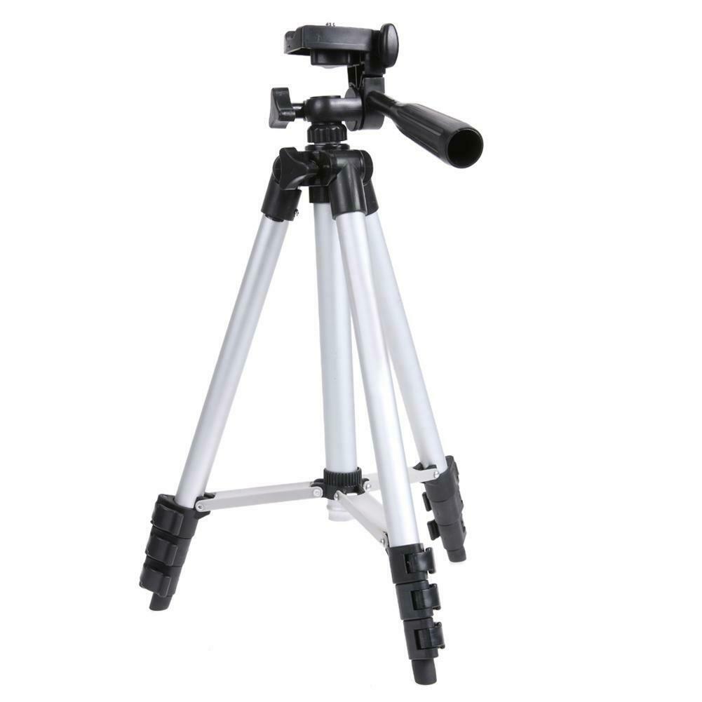 Kit Youtuber 6x1 - Bastão Selfie + Sup Celular + Controle + Microfone com Adaptador +Tripé 1,20m
