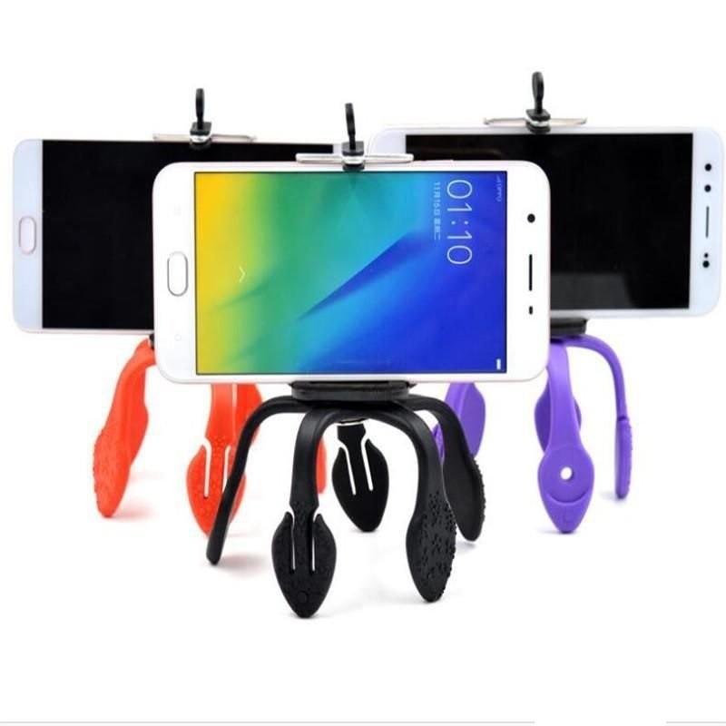 Kit Youtuber 7x1 - Tripé 1,20 Metro+ Bastão + Controle + Suporte + LED Ring + Mini Tripé Gekkopod