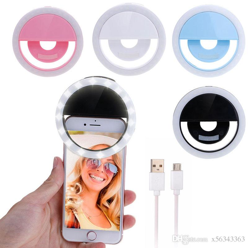 Kit Youtuber / Home Office Ring Light Para Celular + Tripe Flexivel + Controle Selfie bluetooth