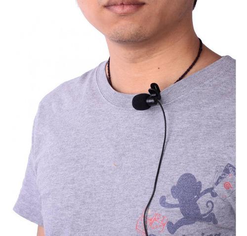 Kit Youtuber 8x1-Lapela Microfone+Condensador Mesa + Tripé 1,30m