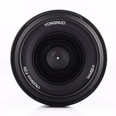 Lente / Objetiva 35mm F/2.0 1:2 AF Yongnuo  compatível com NIKON