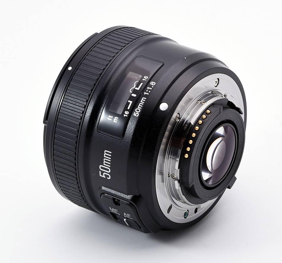 Lente / Objetiva 50mm F1.8 AF-S Yongnuo compatível com NIKON