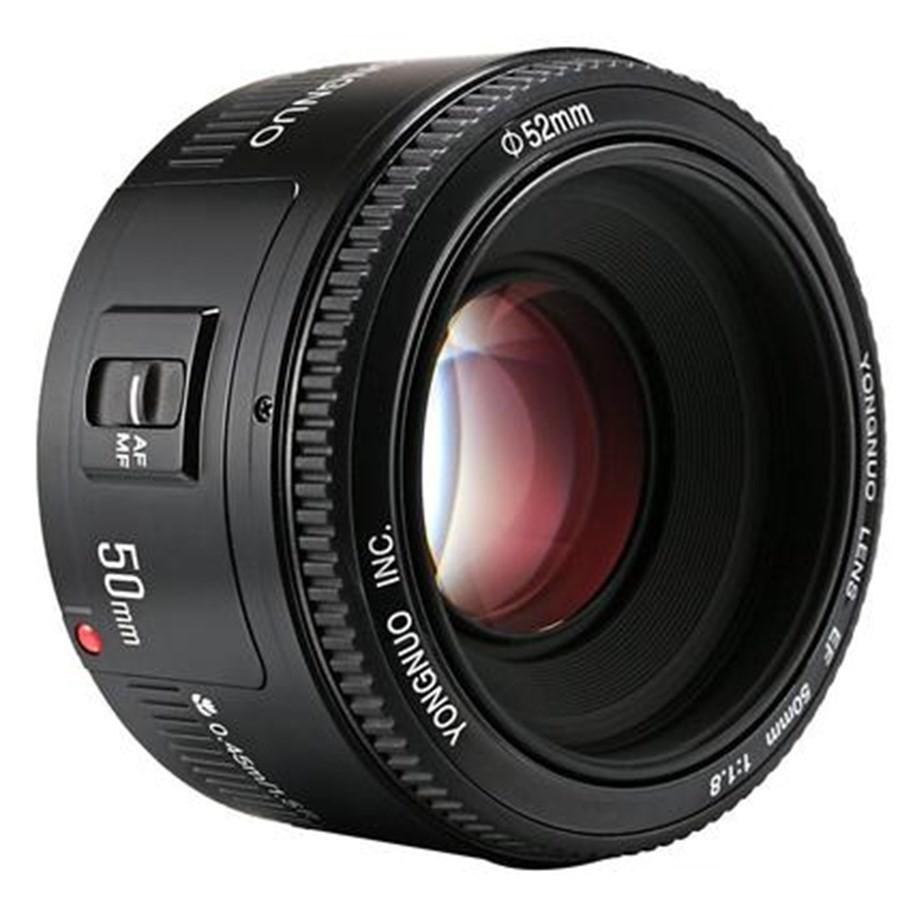 Lente / Objetiva 50mm F/1.8 1:1.8 AF Yongnuo compatível com CANON