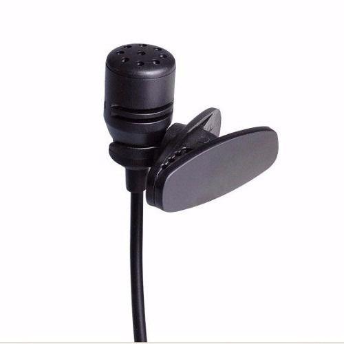 Microfone De Lapela Stereo Com Adaptador P/ Smartphones Kanko
