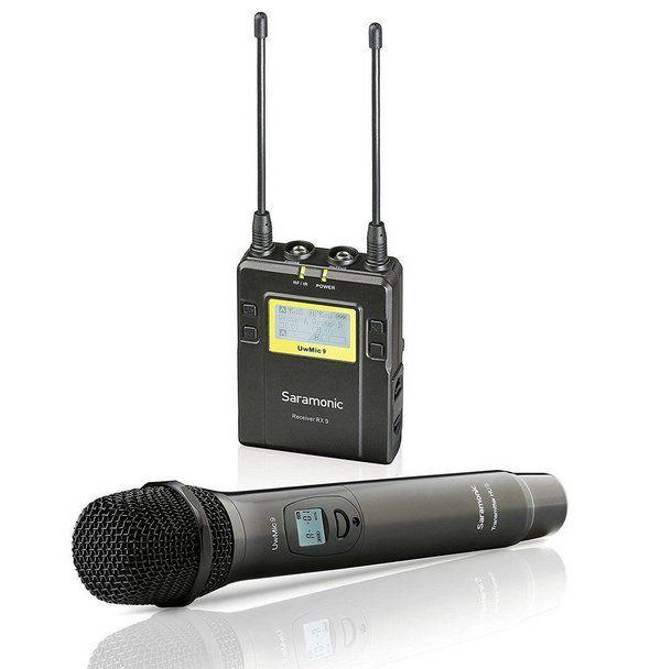Microfone e Receptor Saramonic RX9 + HU9 Pack