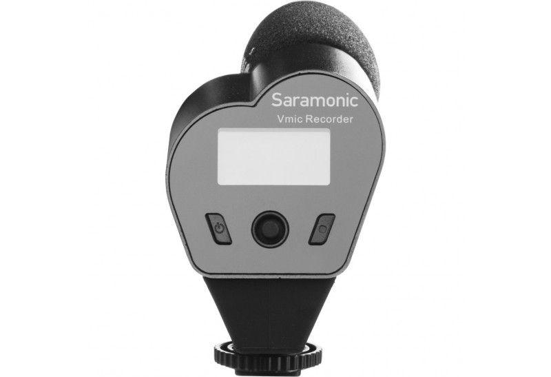 Microfone Saramonic VMic Direcional Com Display LCD