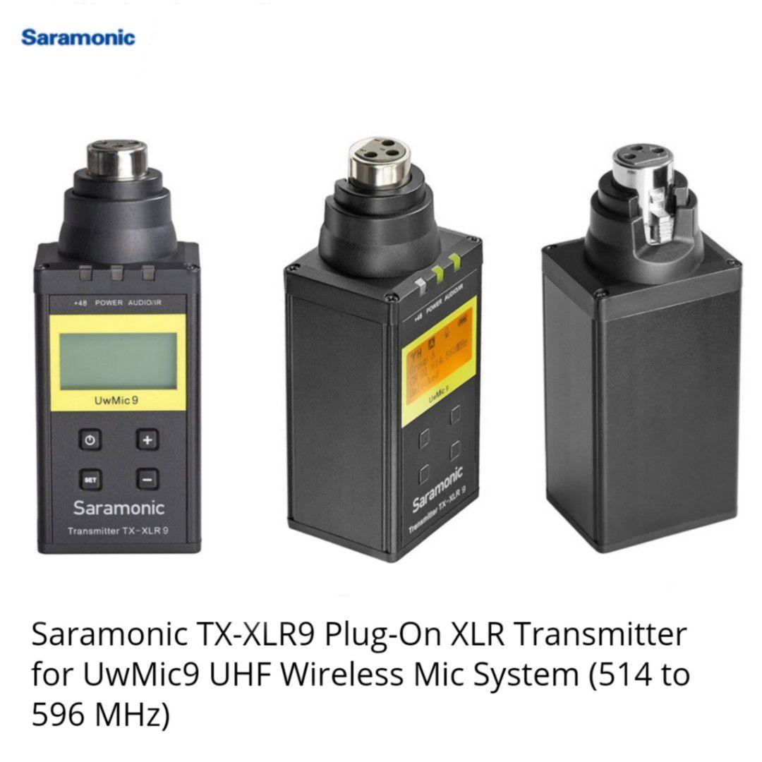Microfone Sem Fio Saramonic RX9+TX-XLR9 Transmissor e Receptor