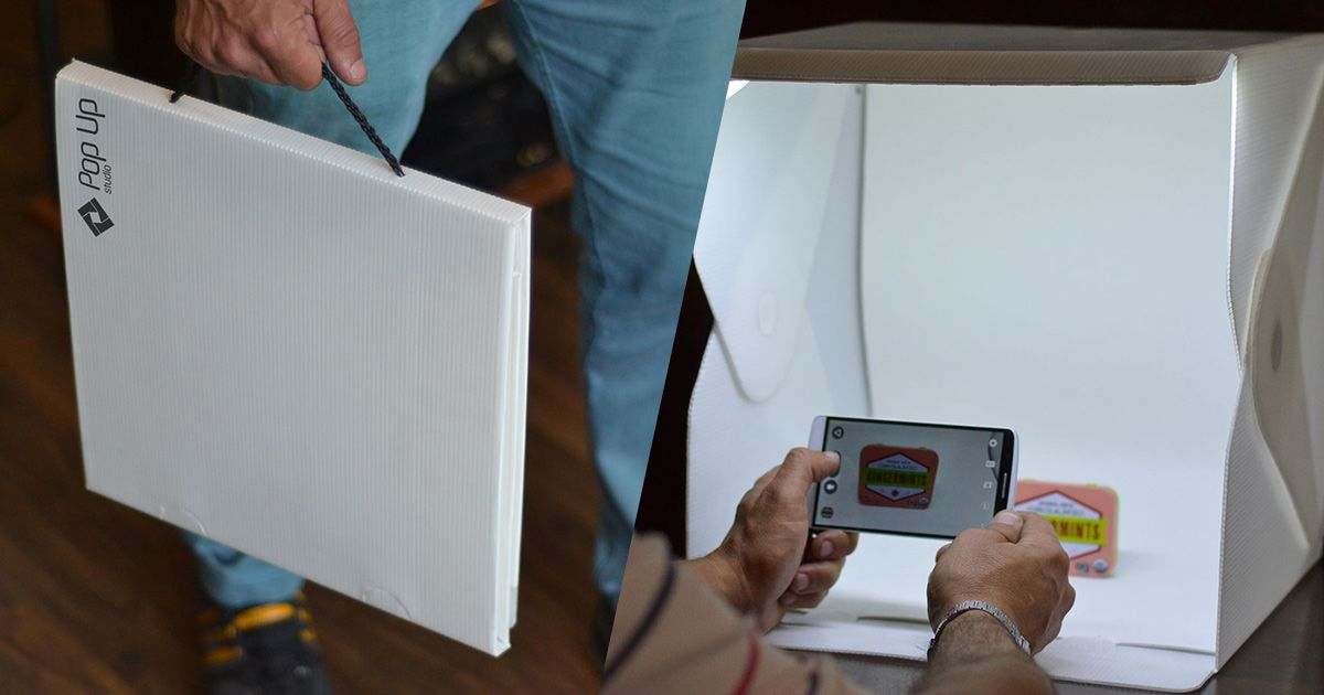 Mini Studio pequeno 35 cm x 35 cm