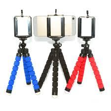 Mini Tripé Flexível + Suporte Para Celular e Smartphones