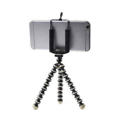 Mini Tripe Gorila + Suporte + Controle Bluetooth