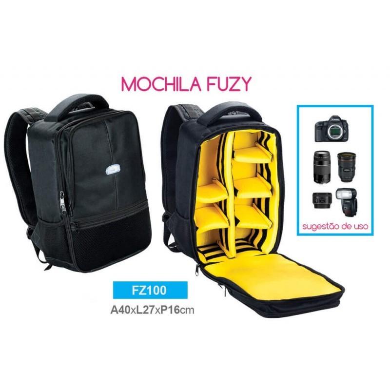 Mochila para Fotografia Crazy Fuzy FZ100 Profissional