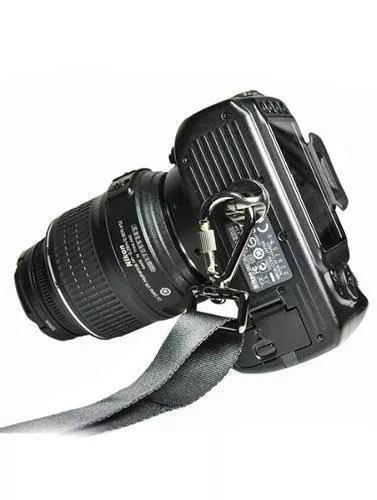 Mosquetão Gancho Para Alças de Pendurar Câmeras Quick Rapid