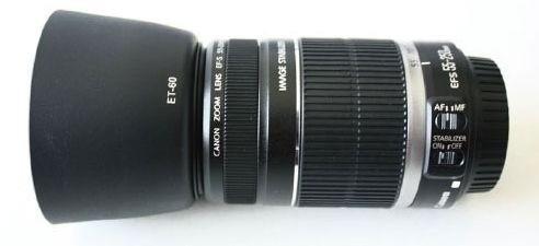 Parasol Cone Et-60 Lente Canon Ef 75-300mm F/4-5.6 Ii