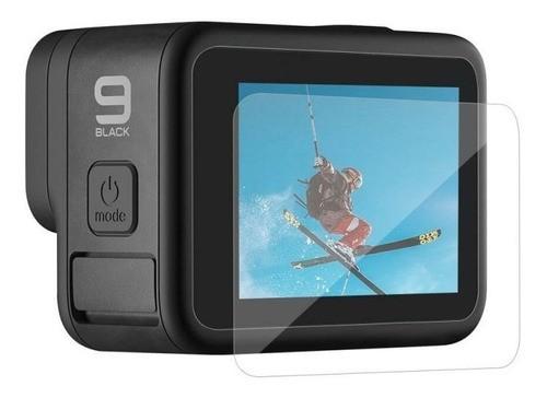 Película De Vidro 3d Frontal Visor E Traseira Gopro Hero 9