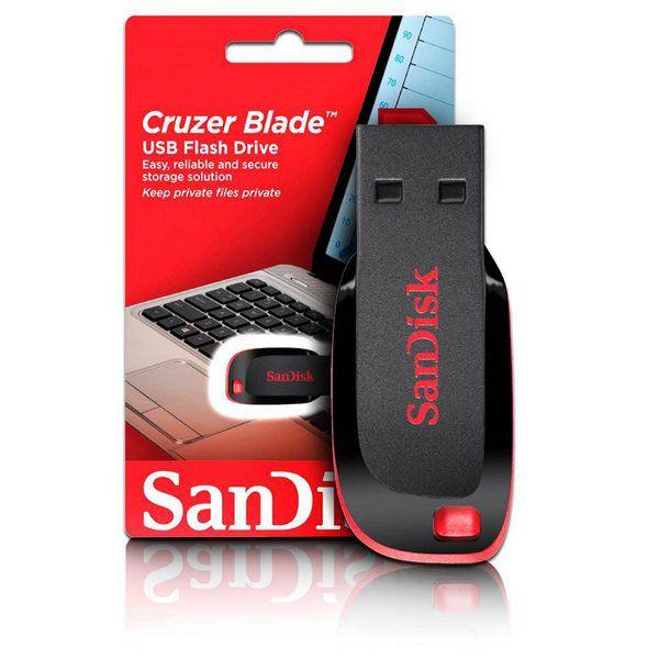 Pen Drive Sandisk 32gb Cruzer Blade