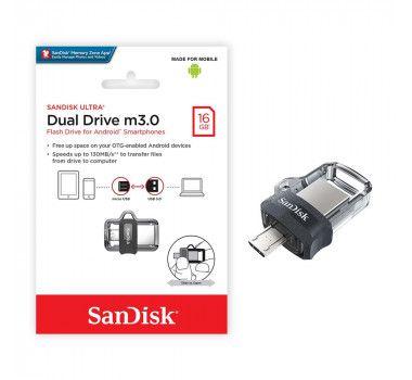 Pendrive 16GB Sandisk Ultra Dual Drive Usb 3.0