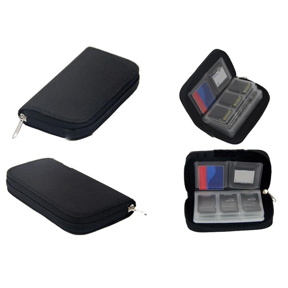 Porta Cartão Sd Card, Compact Flash, Micro CF, Com Zíper Memória Case