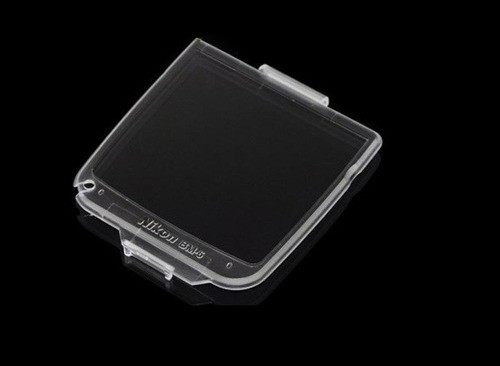 Protetor Lcd Bm-6 Câmera Nikon D200 Plástico Rígido