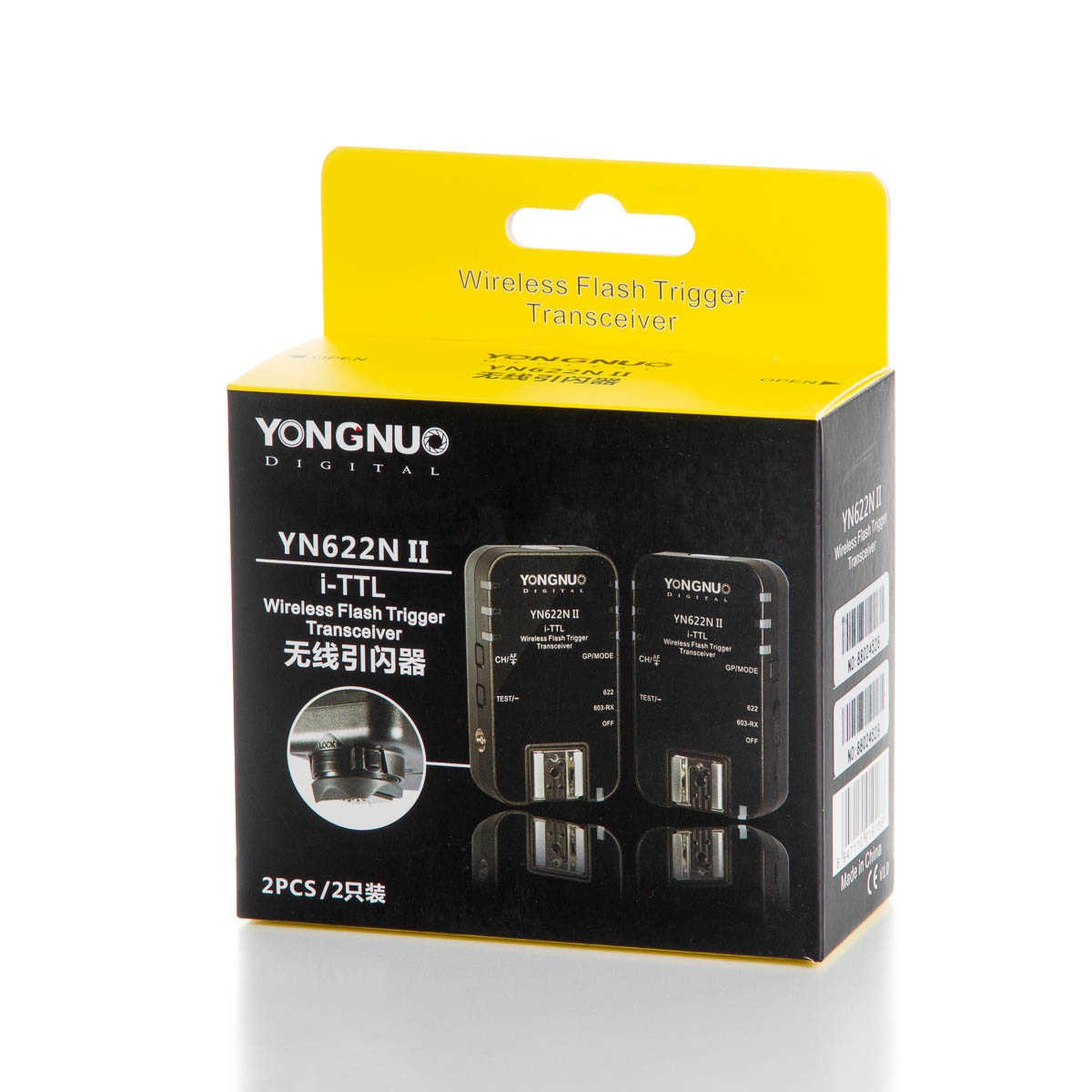 Rádio Flash i-TTL Yongnuo YN622N II para Nikon