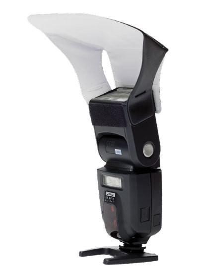 Rebatedor de Flash Rígido Modelo com Velcro