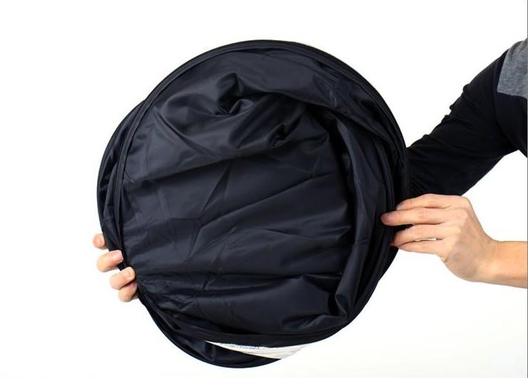 Rebatedor de Luz Retangular ou Oval 5 Em 1 Tamanho 60 X 90cm Flexível Portátil Bordas Arredondadas