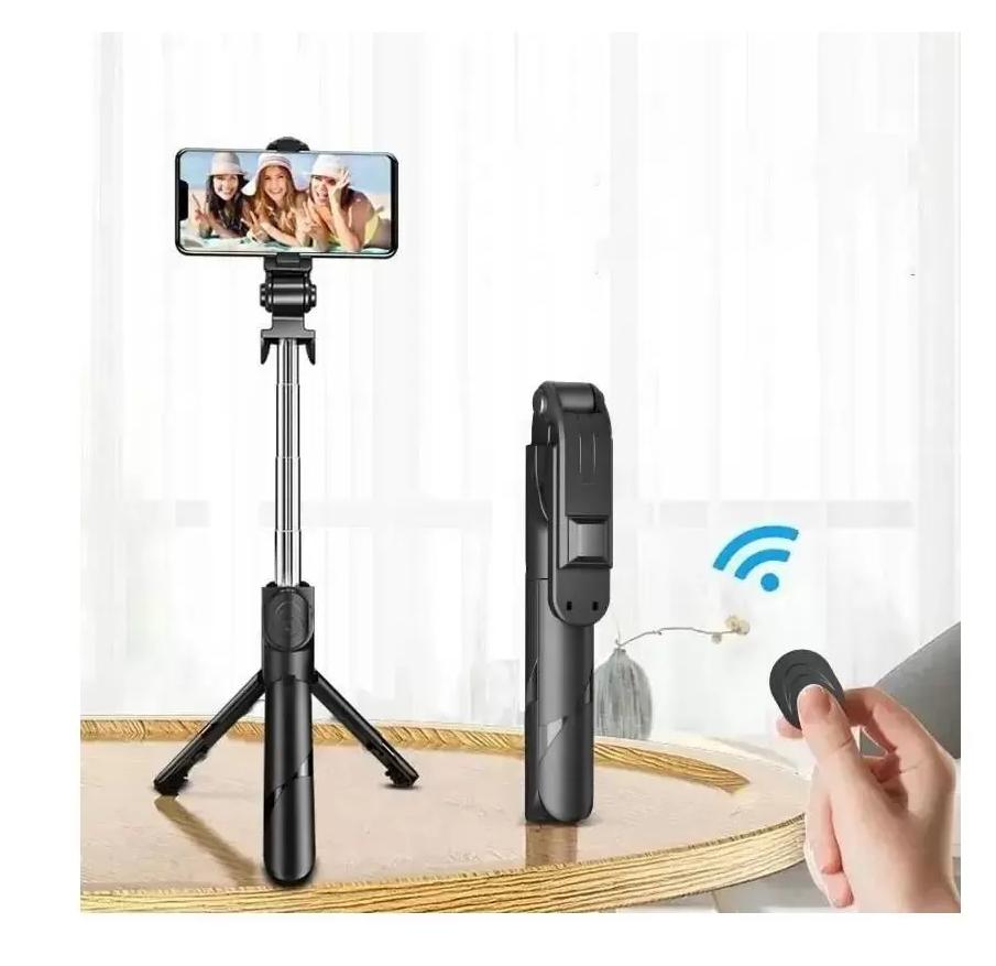 Suporte Para Celular Pau De Selfie Com  Bluetooth LE-3502