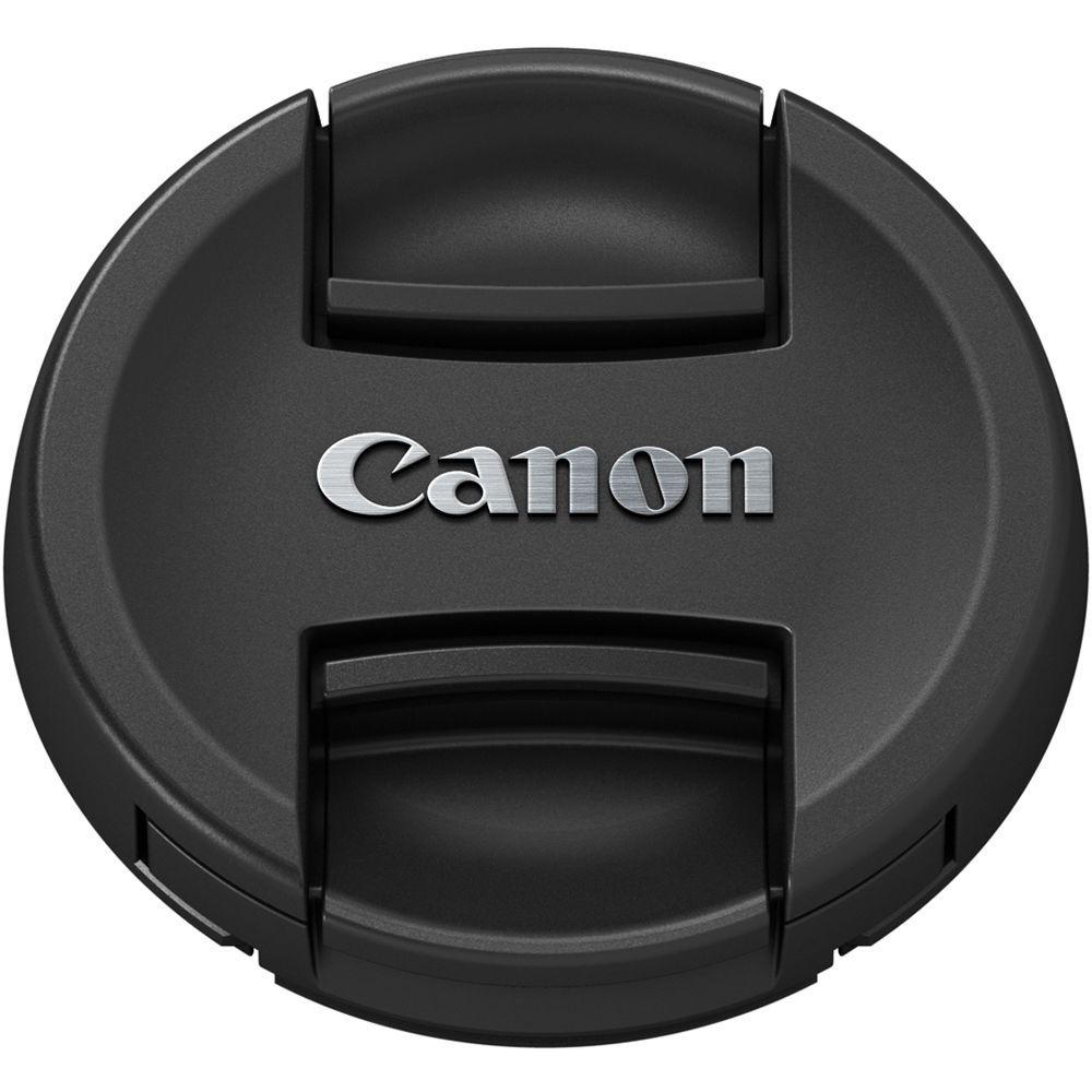 TAMPA FRONTAL COM LOGO CANON PARA LENTES 77mm