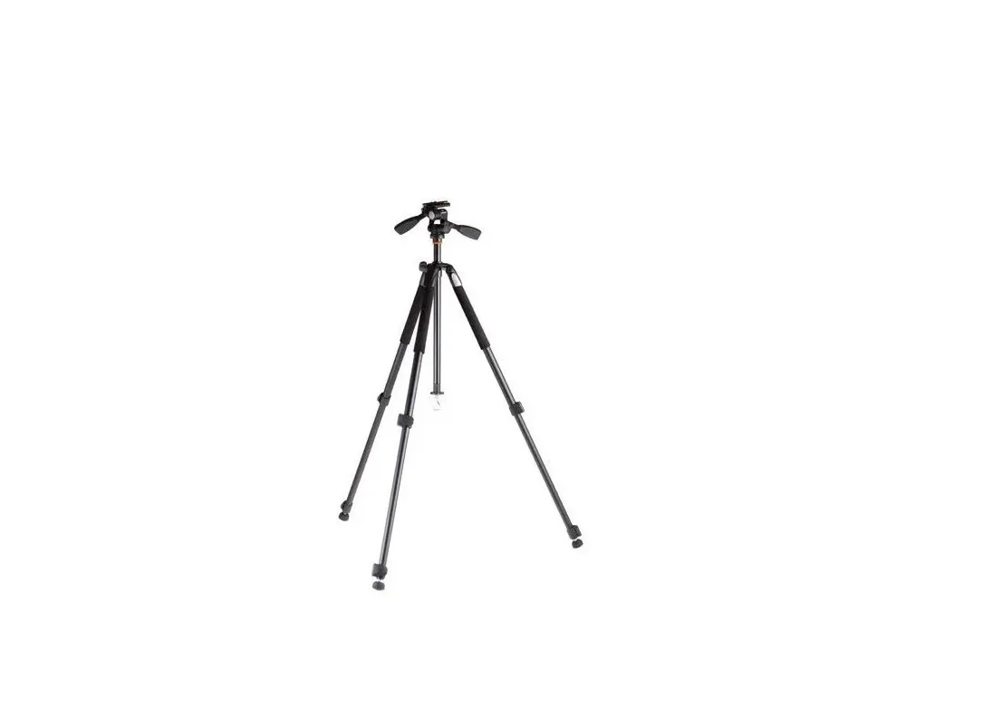 TRIPE PROFISSIONAL FOTO/VIDEO Vanguard com cabeça hidráulica Altura máxima 1,62 metros suporta até 3Kg