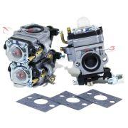Carburador Toyama RT 43L / TBC 43 H / TBC 43 SH / TBC 43 X / TBC 52 H / TBC 52 X – (3 UNIDADES) - para Roçadeira