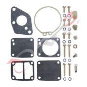 Kit de Reparo de Carburador – (SEM BOIA) – Mercury-Mariner 4 HP / 5 HP / 8 HP / 9.9 HP - para Motor de Popa