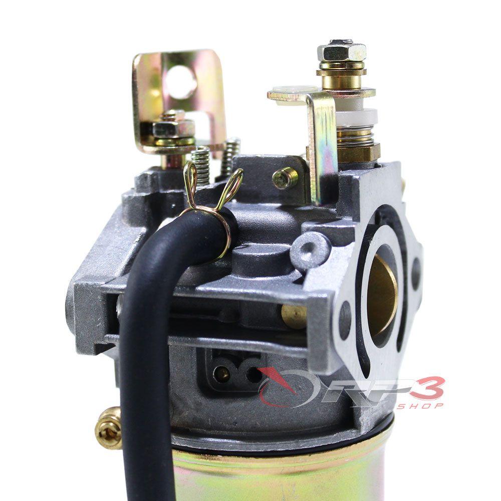 Carburador motor Robin Subaru Eh12 - 4 HP + 1 Vela - NGK BP6ES