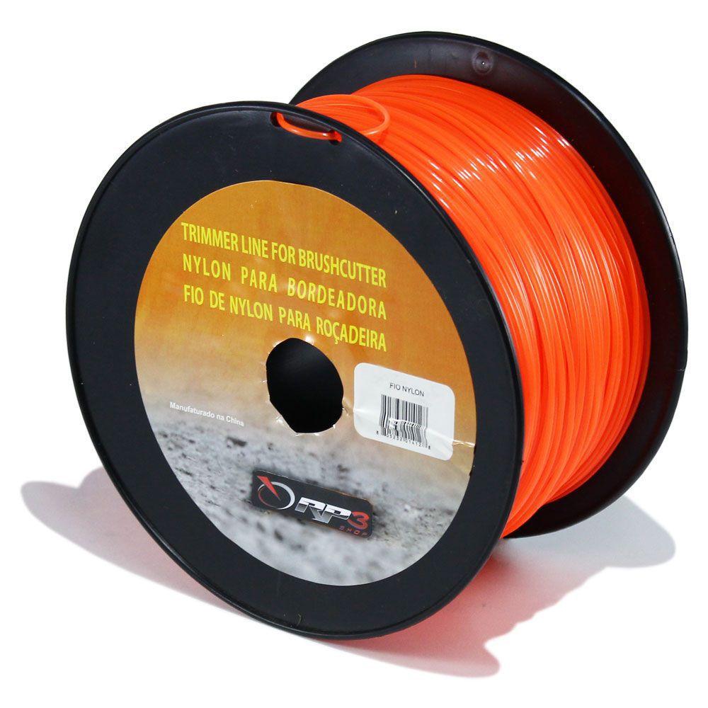 Bobina de Fio de Nylon – REDONDO – 1.6 mm – 1 KG – 430 metros - para Roçadeiras - PROMOÇÃO BLACK FRIDAY
