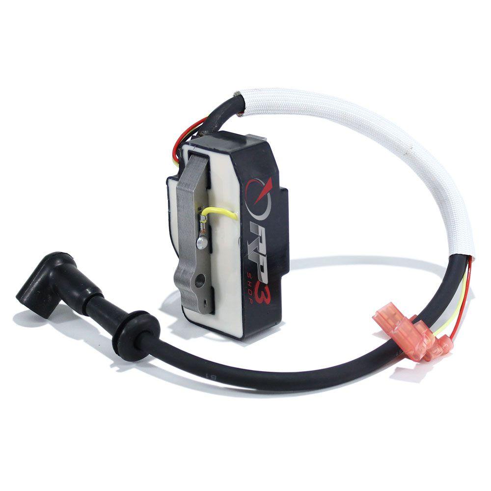 Bobina Modulo de Ignição - Wacker WM80 / BS 50-2i / BS 60-2i / BS 70-2i – MODELO NOVO – (Modelo com Injeção de óleo) - para Compactador de Solo