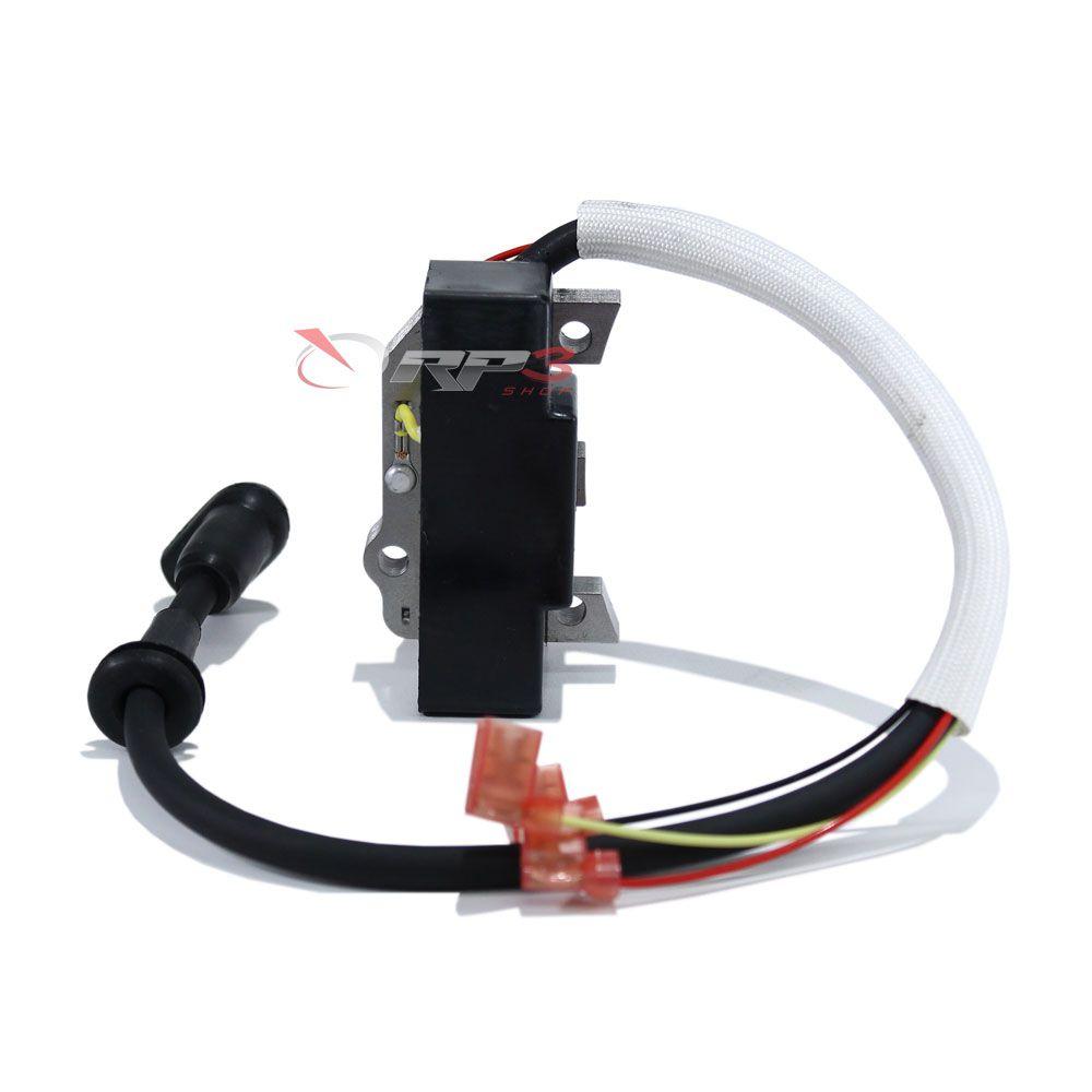 Bobina de Ignição - Wacker WM80 / BS 50-2i / BS 60-2i / BS 70-2i – MODELO NOVO – (Modelo com Injeção de óleo) - para Compactador de Solo