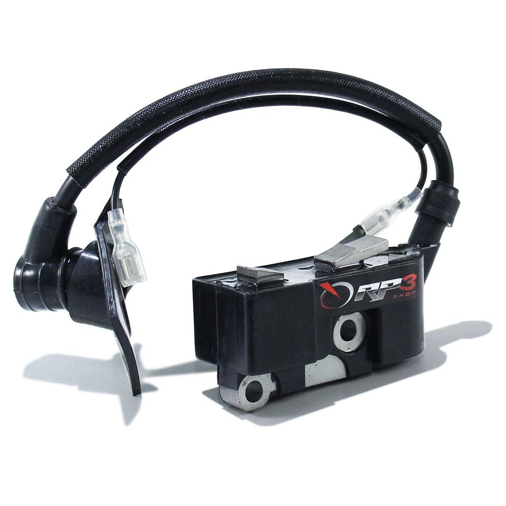 Bobina Modulo de Ignição Motosserra Kawashima 4516 / 5218 / CS 3800 / Cs 4500 / CS 5600 ou Motosserras Kawashima 45 cc / 52 cc / 58 cc