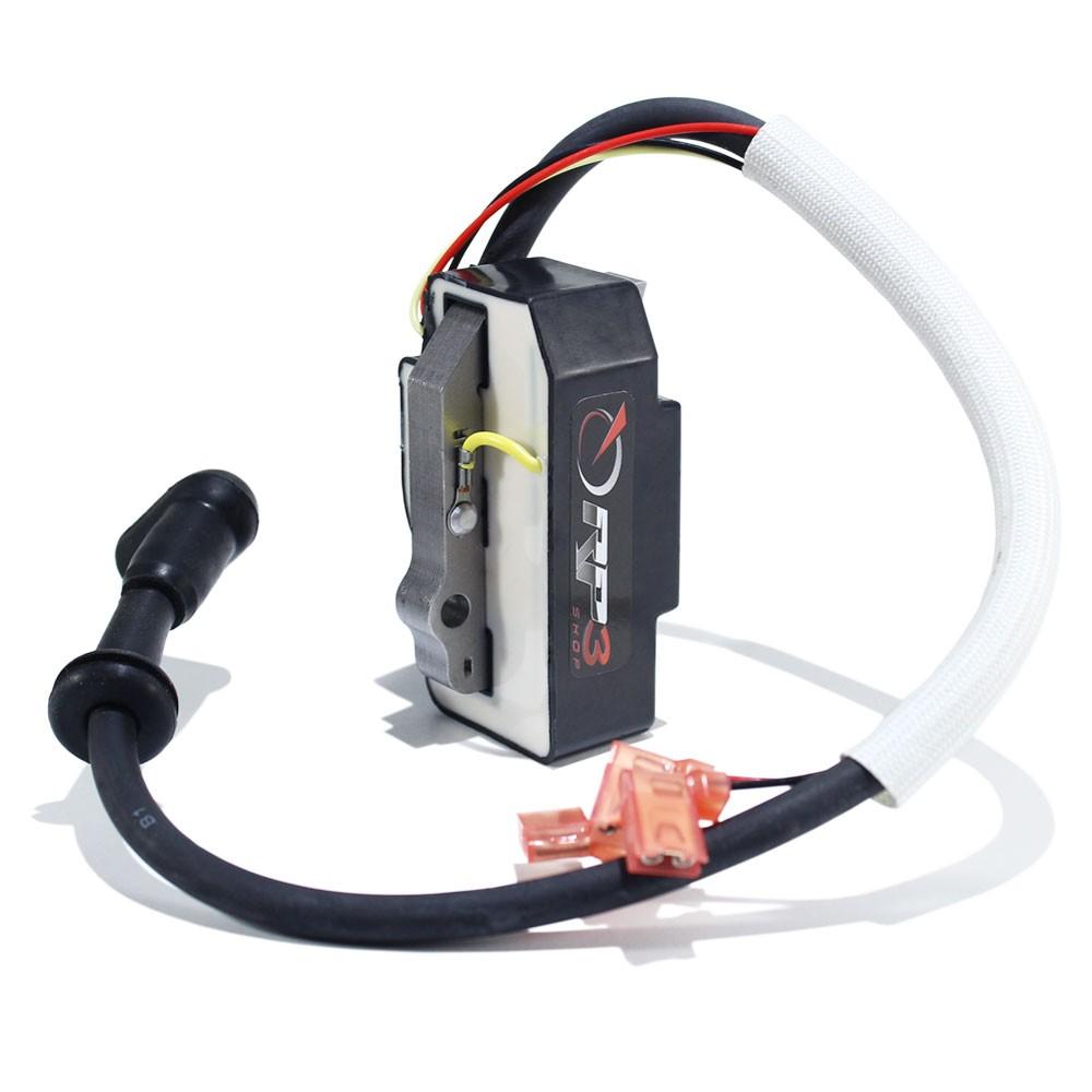 Bobina Modulo de Ignição Compactador de Solo Wacker WM80 / BS 50-2i / BS 60-2i / BS 70-2i – MODELO NOVO – (Modelo com Injeção de óleo) - (Com sensor de Nível de óleo)