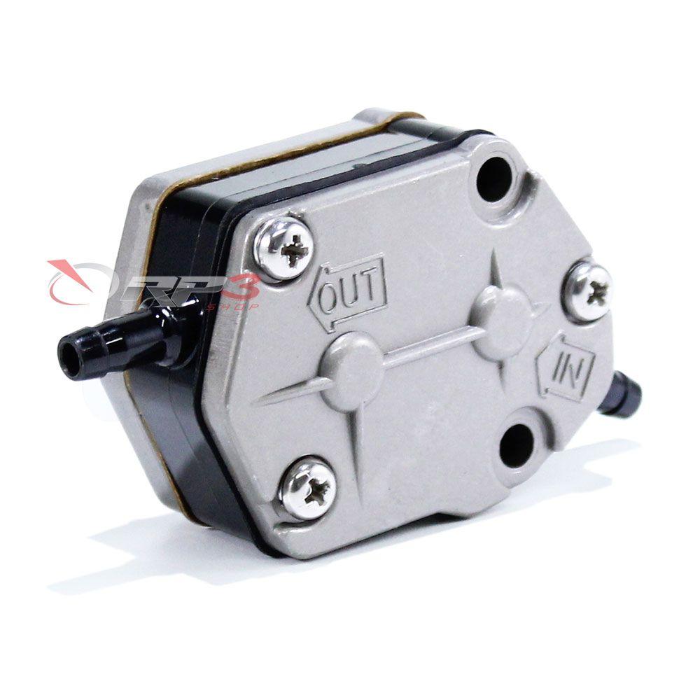 Bomba de Combustível / Gasolina - Yamaha 25 HP / 30 HP / 40 HP / 48 HP / 50 HP / 55 HP / 60 HP / 70 HP / 75 HP / 80 HP / 85 HP / 90 HP - Importado - para Motor de Popa