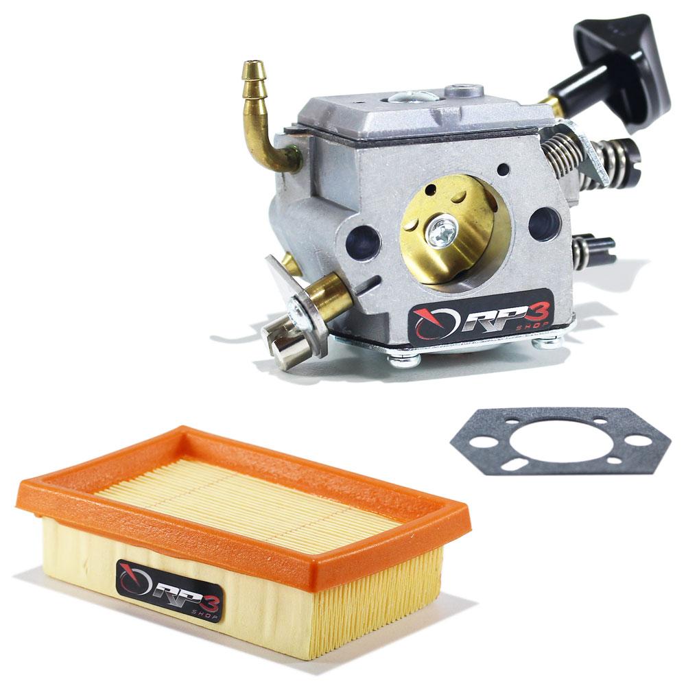 Carburador Soprador de Folhas Costal BR 420 / BR 420 C / BR 340 / BR 340 L / BR 380 + Junta + Filtro de Ar
