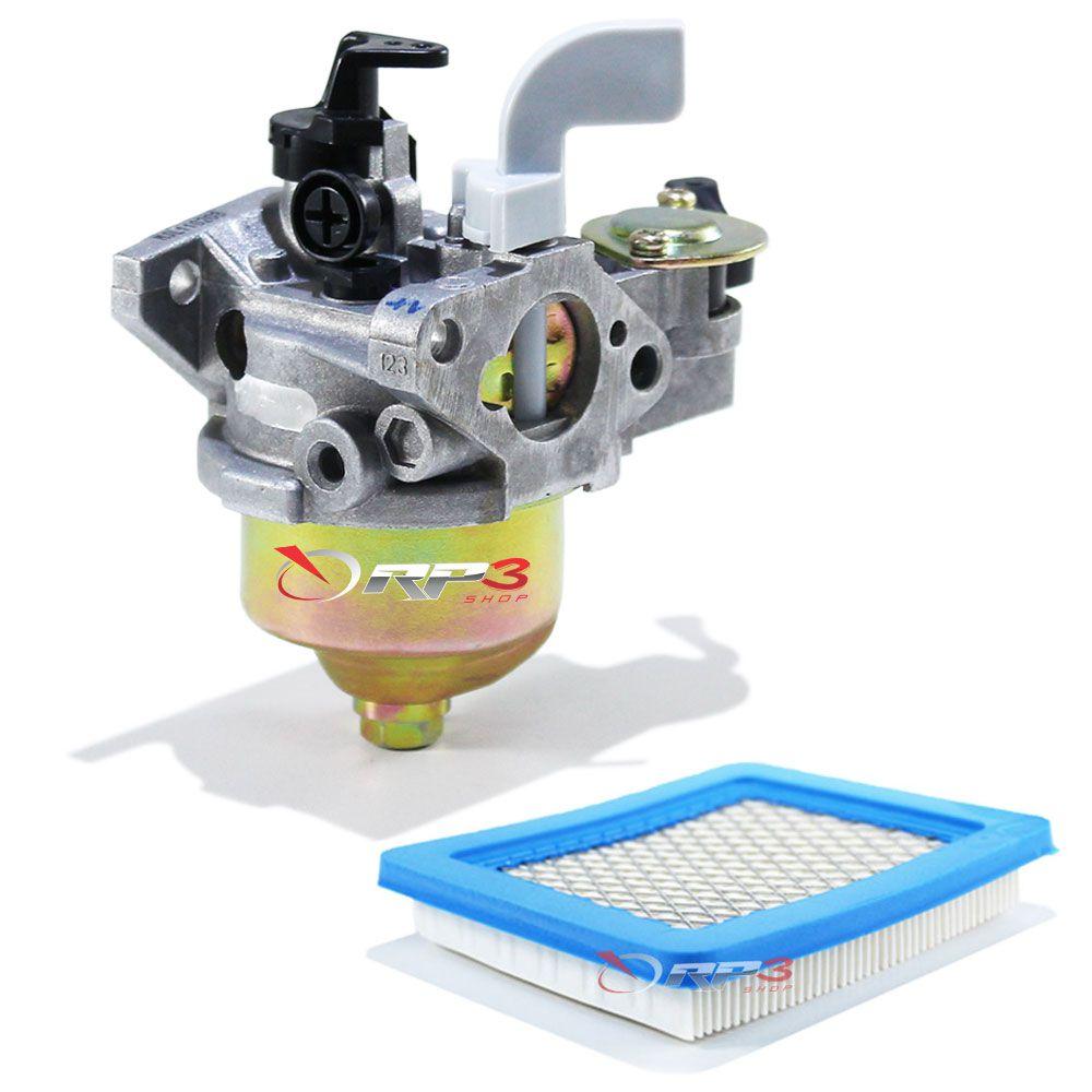 Carburador – motor Honda GX100 + 1 Filtro de Ar - Motor Estacionário