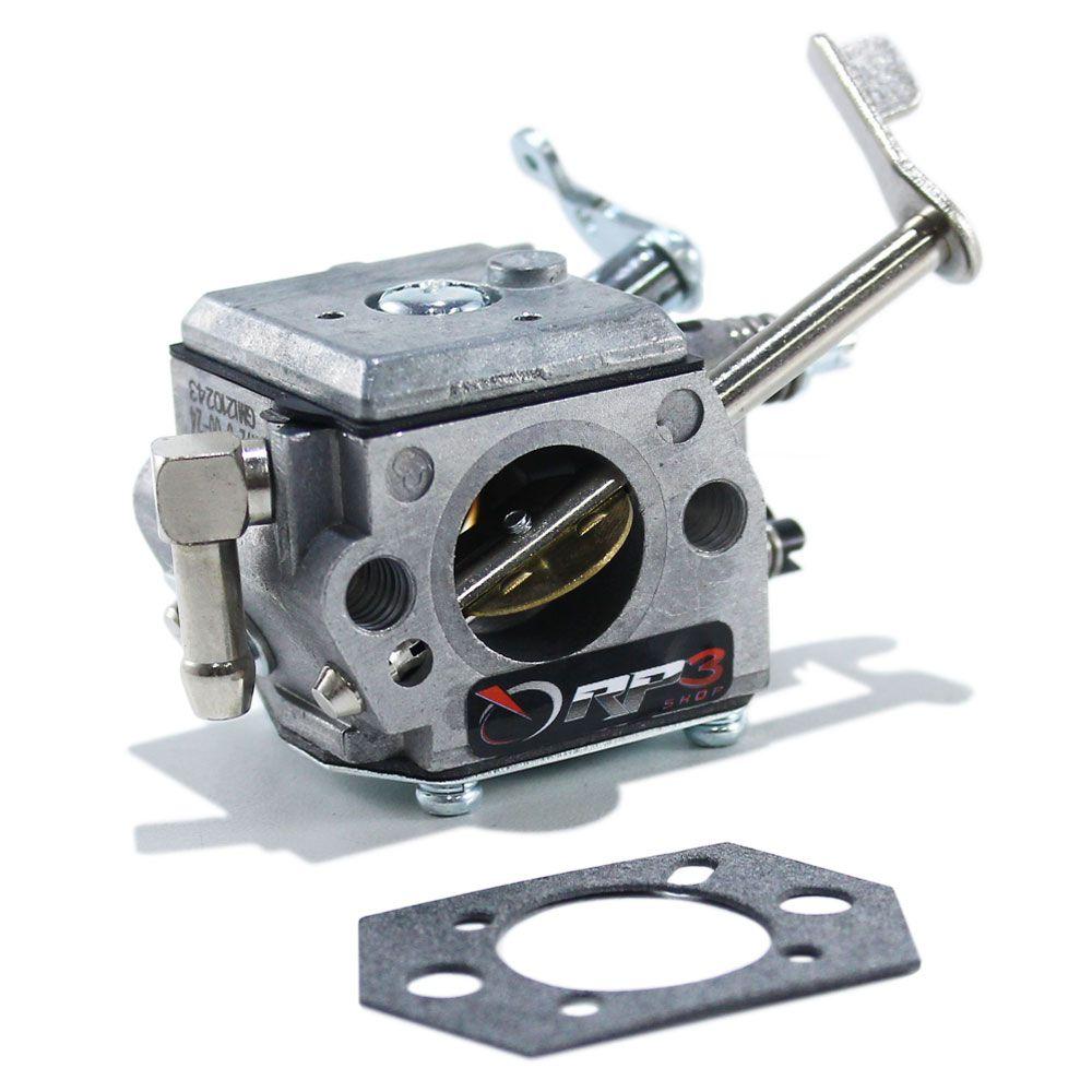 Carburador motor Honda GX100 / GXR120 + Junta - APENAS para motor Compactador de Solo