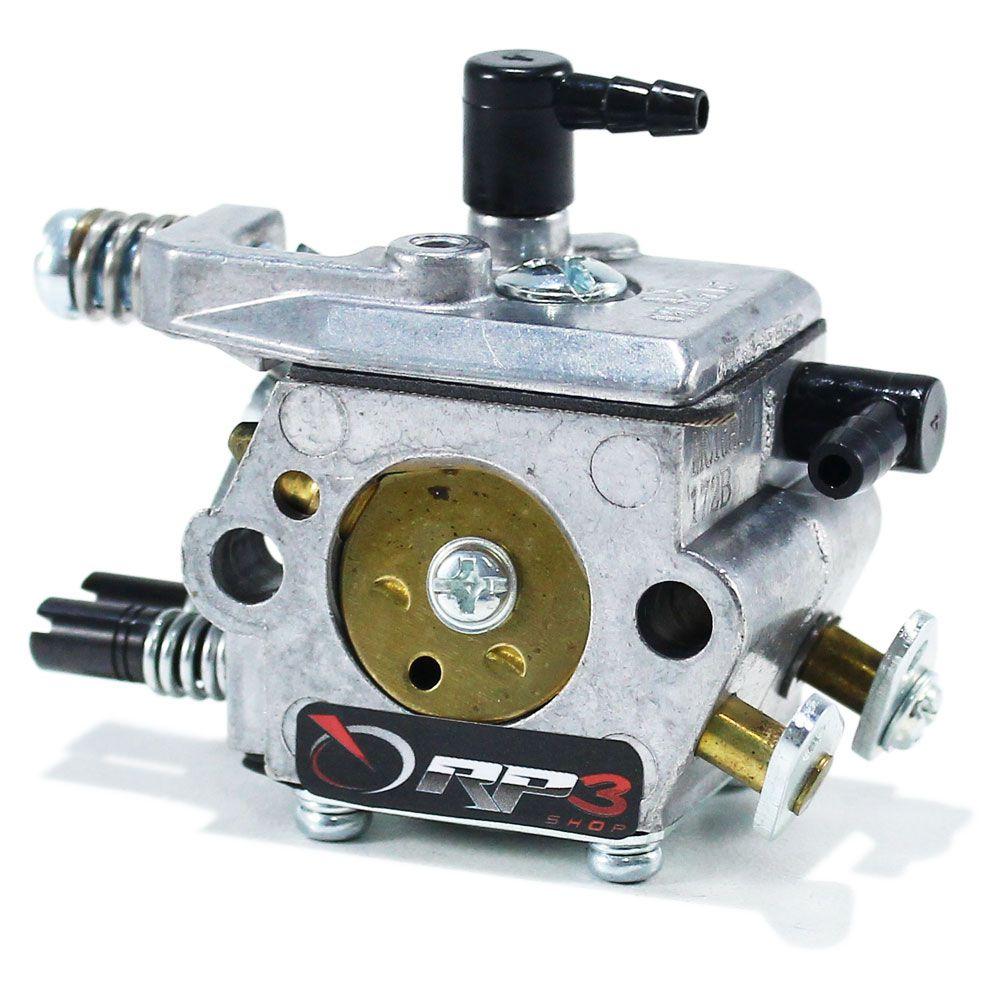 Carburador Motosserra Kawashima / Toyama / Tekna / Vulcan / Brutatec / FortG / Nagano - 45 cc / 52 cc / 58 cc