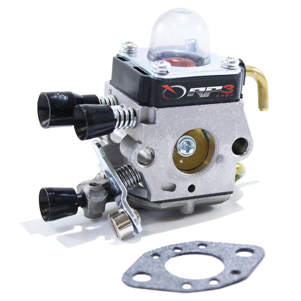 Carburador Roçadeira FS 55 / FS 75 / FS 80 / FS 80 R / FS 85 / FS 85 R / FS 85 T / FS 85 RX / FR 85 T / FR 85 / KA 85