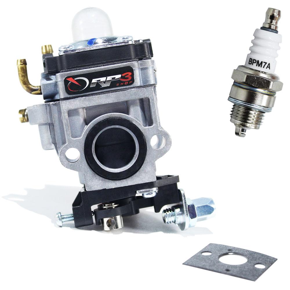 Carburador Roçadeira Terra 43 cc à 52 cc / GR 430 / GRB 430 / GRH 430 / GRBH 430 / GR520 / GR 520 XP + Junta + Vela