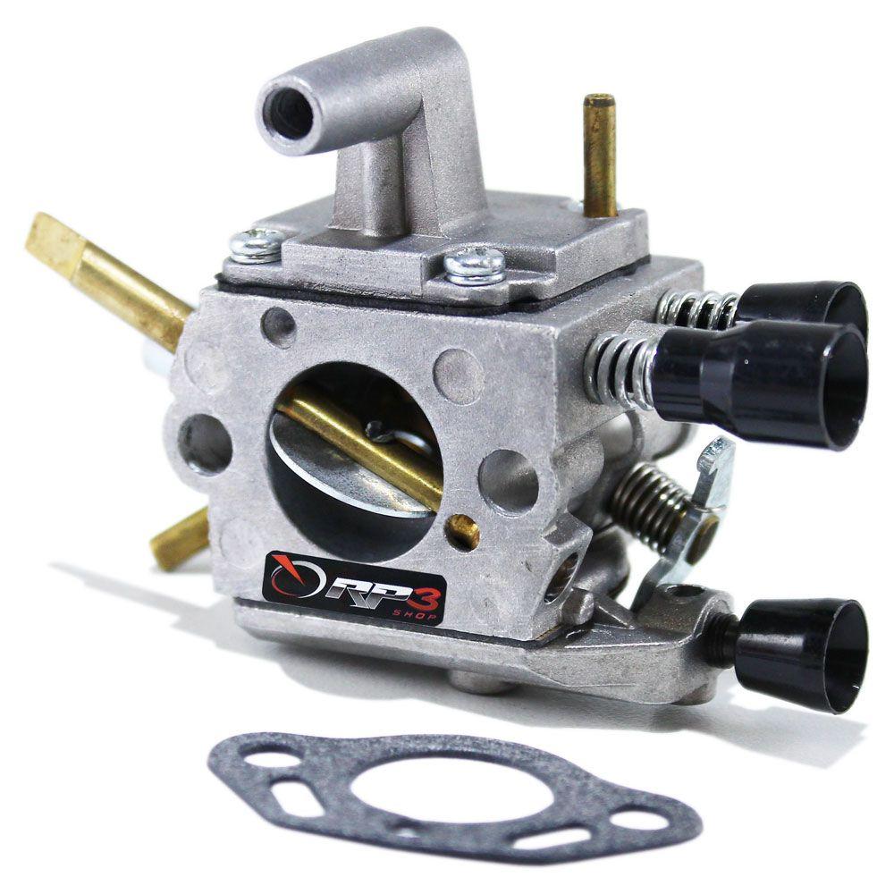 Carburador Roçadeira FS 120 / FS 300 / FS 350 + Junta