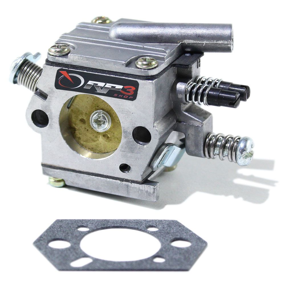 Carburador Motosserra MS 038 modelo NOVO / MS 380 / MS 381 (Modelo Bing)