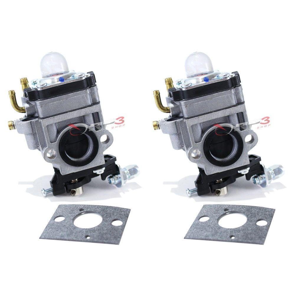Carburador Toyama RT 43L / TBC 43 H / TBC 43 SH / TBC 43 X / TBC 52 H / TBC 52 X – (2 UNIDADES) - para Roçadeira