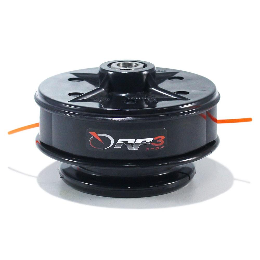 Carretel Fio de Nylon (Manual) Roçadeira Tekna 26 cc / 33 cc / 43 cc / 50 cc / 52 cc / RL 260 / RL 330 / RL 430 / RL 520
